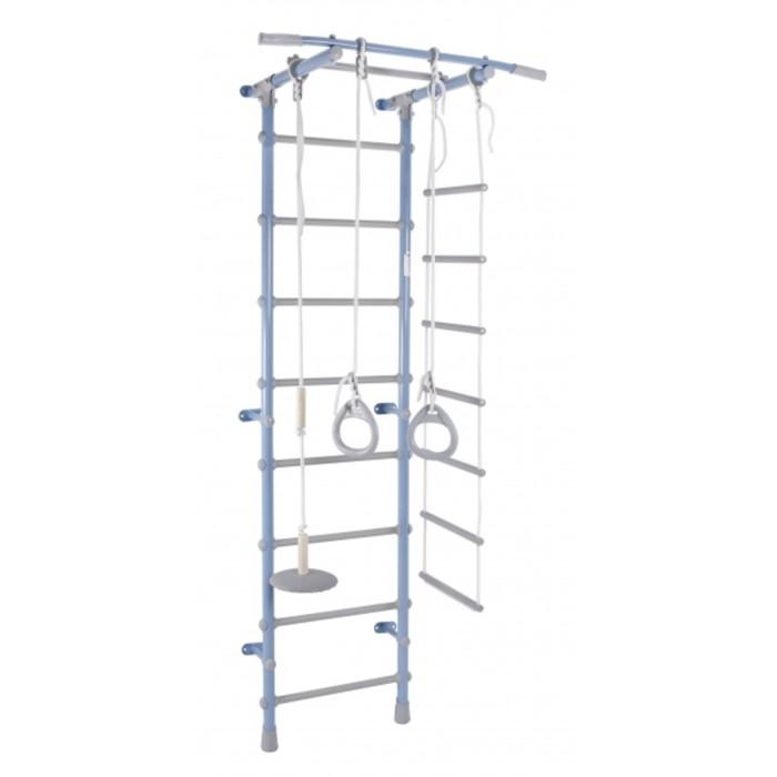 ДСК «Формула здоровья» Pastel 1, 630 × 525 × 2170 мм, цвет голубой/серый