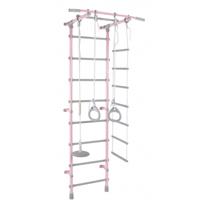 ДСК «Формула здоровья» Pastel 1, 630 × 525 × 2170 мм, цвет розовый/серый