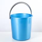 Ведро, 7 л, цвет голубой перламутр