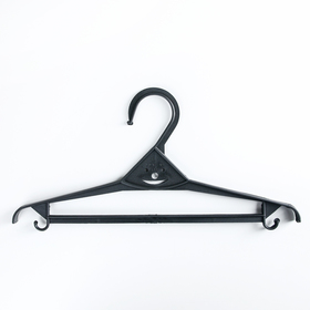 Вешалка-плечики для верхней одежды, размер 40-42, цвет МИКС - фото 4642804