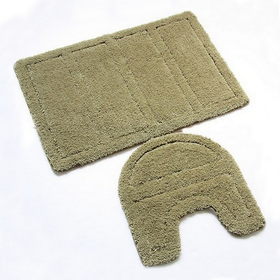 Набор ковриков для ванной комнаты 60х90, 50х50 см Green Landscape