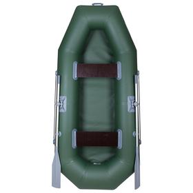Лодка «Дельта-260», 260 х 120 см, цвет зелёный