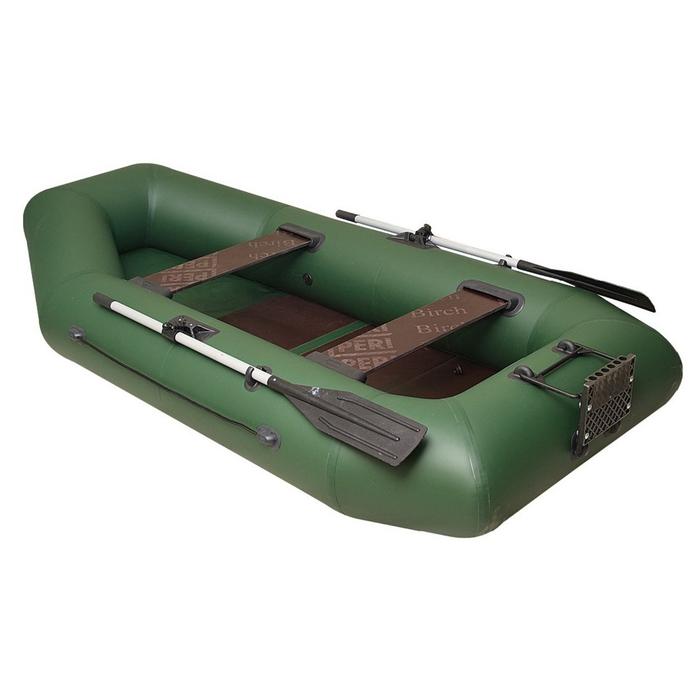 Лодка «Дельта-275», 275 х 141 см, транец + слань цвет зелёный