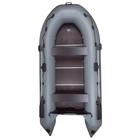 Лодка «Дельта-390СК», 390 х 185 см, цвет серый