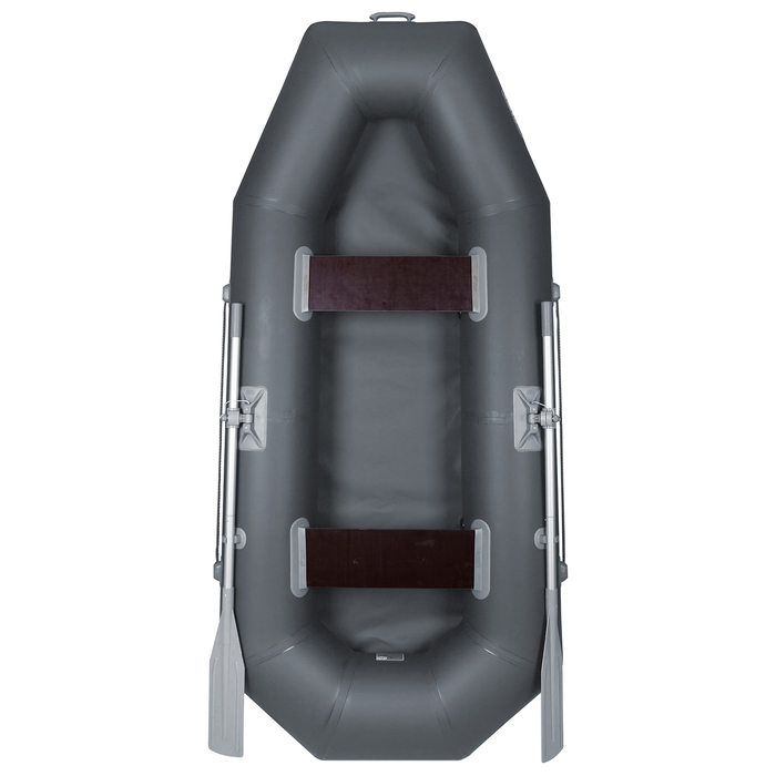 Лодка «Дельта-240», 240 х 120 см, цвет серый