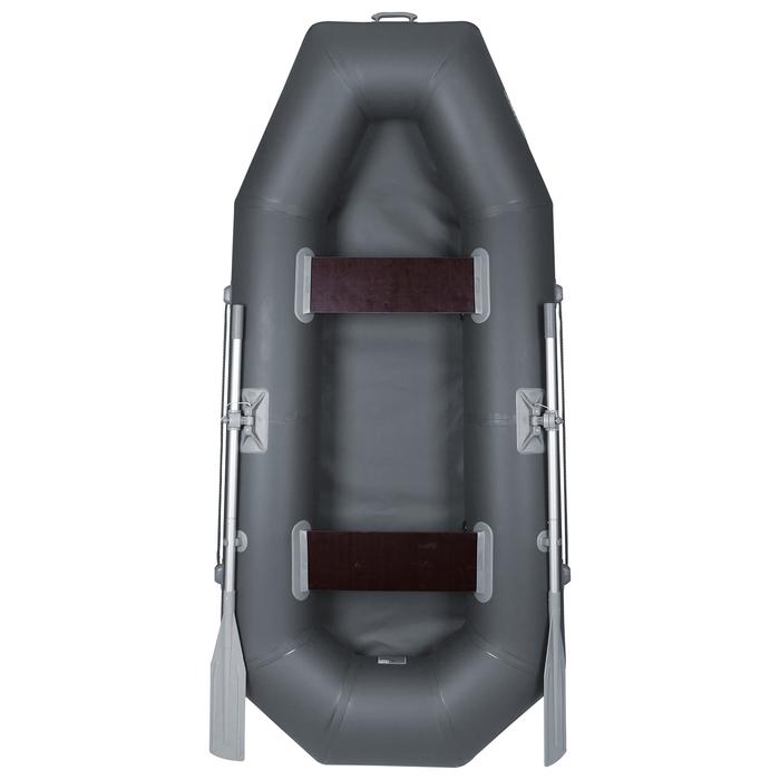 Лодка «Дельта-260», 260 х 120 см, цвет серый
