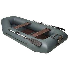 Лодка «Дельта-275», 275 х 141 см, транец + слань цвет серый