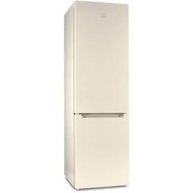 Холодильник Indesit DF 4200 E, 324 л, класс А, Total No Frost, выдвигающиеся полки, бежевый