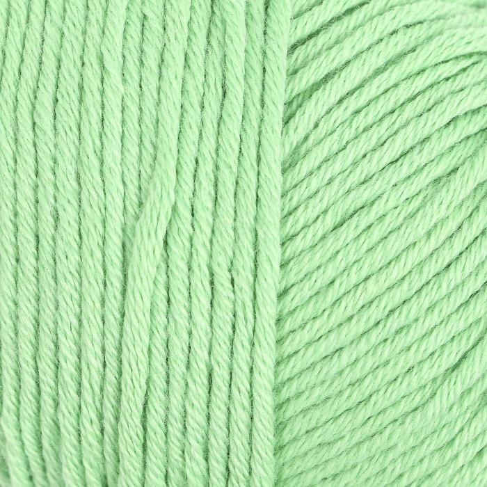 """Пряжа """"Organic Baby Cotton"""" 100% хлопок 115м/50гр (421 мятный)"""