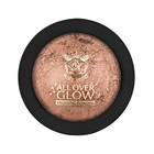Бронзирующая пудра Kiss Light Glow Face & Body Bling Powder