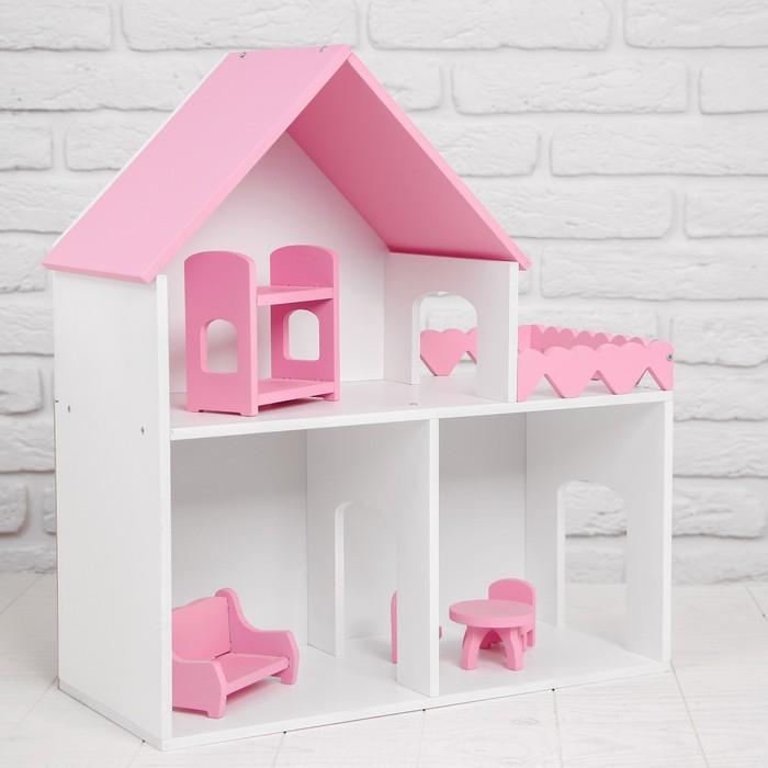 Дом «Фисташковый пломбир» размеры: 45 × 50 × 20 см, с мебелью