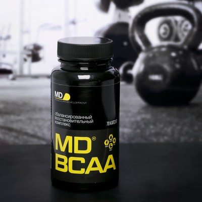 The MD 70 amino acids BCAA caps.
