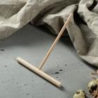Лопатка для приготовления блинов 15 х 12 см, бук