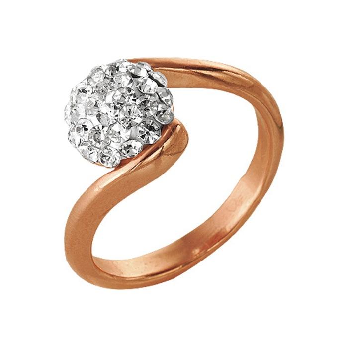 "Кольцо позолота ""Монпансье"", орбита, 17 размер"