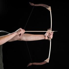 """Сувенир деревянный """"Лук"""", 78 х 30 см, массив бука"""