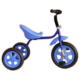 Велосипед трехколесный Лучик Малют 4, колеса EVA  10'/8', цвет синий Ош