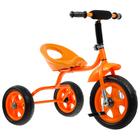 """Велосипед трехколесный Лучик Малют 4, колеса EVA  10""""/8"""", цвет оранжевый"""