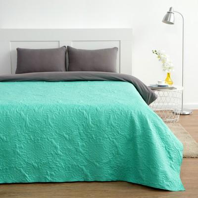 "Veil ""Ethel"" 1.5 SP. Col. green 150×210 ± 5 cm, mikrofayber, 65 g/m2"