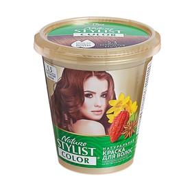 Натуральная краска для волос Nature Stylist Color тон 5.3 Золотистый каштан, 10 г