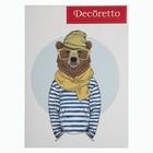 "Наклейки Decoretto ""Медведь-матрос"""