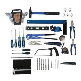 Набор инструментов в ящике TUNDRA, универсальный, 92 предмета Ош