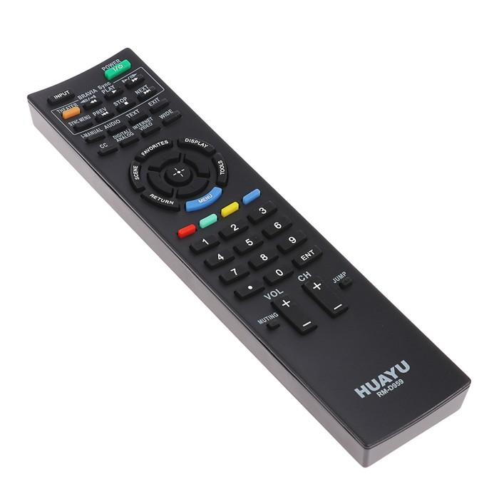 Пульт ДУ Huayu RM-D959, для ТВ Sony, универсальный, черный