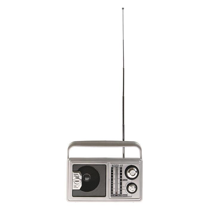 """Радиоприемник """"Эфир-07"""", FM 64-108 МГц, 220 В"""
