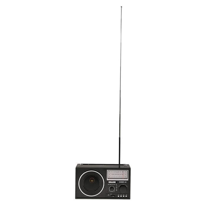 """Радиоприемник """"Эфир-13"""", УКВ 64-108 МГц, 220 В, USB, SD, microSD, AUX"""