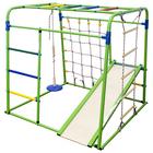 Детский спортивный комплекс Start baby 1, 1200 × 1330 × 1230 мм, цвет салатовый/радуга