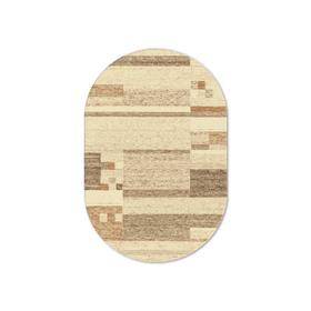 Ковёр овальный Delta, размер 1.6 x 2.3 м, 8222 2 43255, цвет бежевый