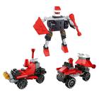 """Конструктор Робот """"Космический исследователь"""", 3 в1,33-40 деталей ПАКЕТ"""