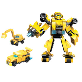 Конструктор-робот «Легионер», 3 варианта сборки, 141 деталь, в пакете