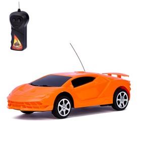 Машина радиоуправляемая «Суперкар», 1:24, работает от батареек, в пакете Ош