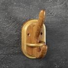 Вешалка деревянная, большая, массив дуба