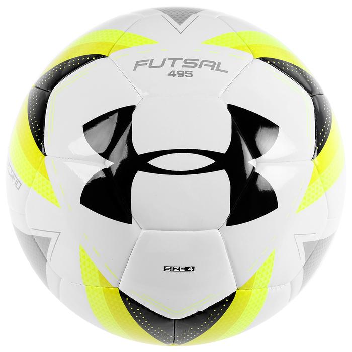 Мяч футзальный Under Armour Futsal 495, размер 4, PU, 32 панели, PU, термо/машинная сшивка