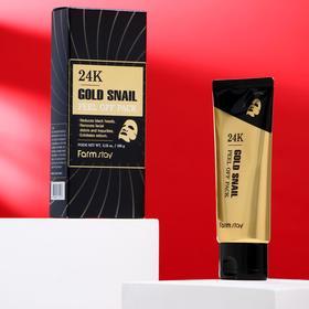 Маска-плёнка для лица Eunyul, с золотом и муцином улитки, 100 мл