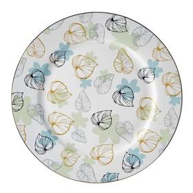 Тарелка обеденная, 27 см, костяной фарфор