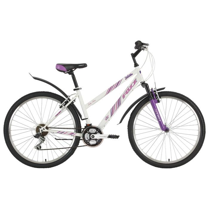 """Велосипед 26"""" Foxx Salsa, 2019, цвет белый, размер 15"""""""