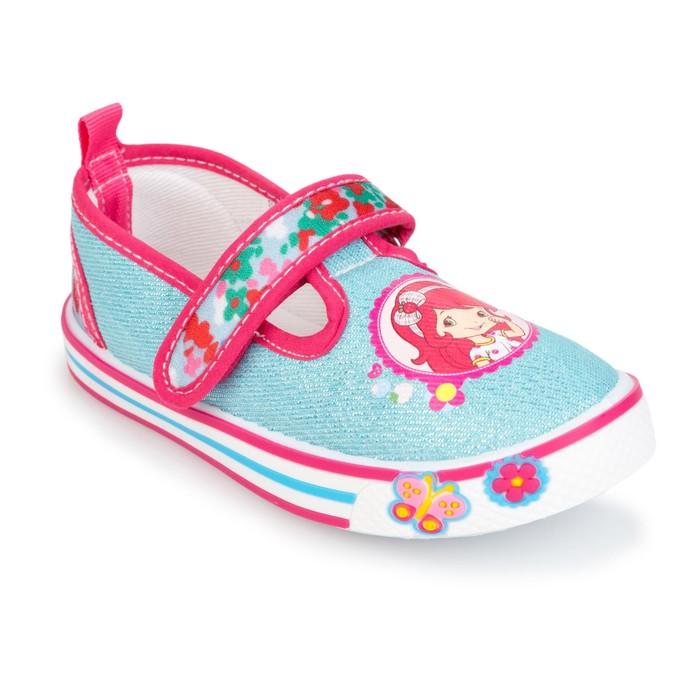 Туфли для девочки арт. SС-29018, цвет голубой, размер 26