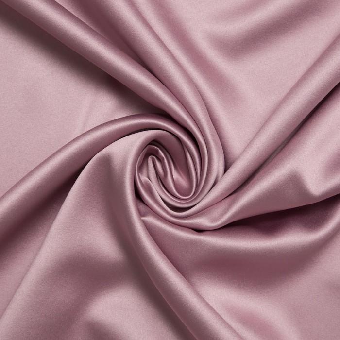 Ткань портьерная 10 м, ш. 280 см, 240 гр/м2, розовое золото, двусторонний блэкаут, 100% п/э