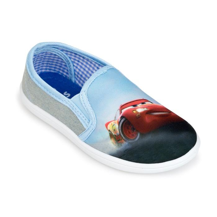 Полуботинки дорожные текс детские арт. DKK40905-10, цвет голубой, размер 28