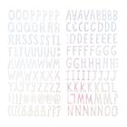Стикеры-алфавит из фоамирана Коллекция « HOORAY» 163 шт Crate Paper