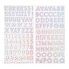 Стикеры-алфавит - Коллекция SUMMER LIGHTS (158 шт) Pink Paislee