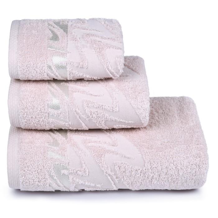 Полотенце махровое «Brilliance» 40х60 см, цвет светло-розовый, 415 гр/м2