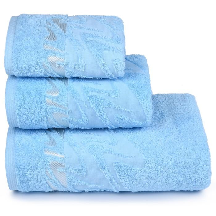 Полотенце махровое «Brilliance» 40х60 см, цвет голубой, 415 гр/м2