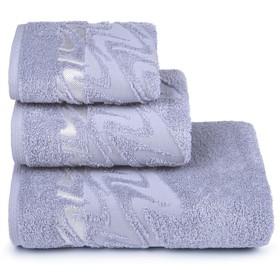 Полотенце махровое «Brilliance» 40х60 см, цвет серый, 415 гр/м2