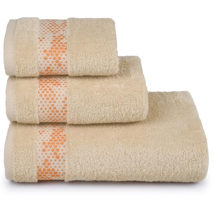 Полотенце махровое Element 50х90 см, 13-0815 песочный, хлопок 100%, 400 гр/м2