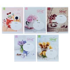 Тетрадь 18 листов клетка «Стиль. Girl's passion», обложка мелованный картон, МИКС