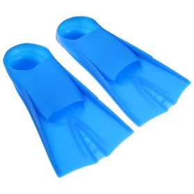 Ласты для плавания размер 30-32, цвет синий