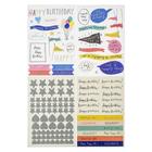 Стикеры из кардстока Коллекция «HOORAY» 153 шт Crate Paper